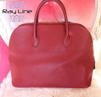 Hermes HERMES bolide bag Bordeaux red bag beauty products