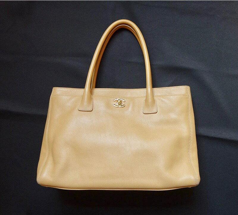 923c9c628b4c ... CHANEL シャネル /マトラッセ チェーンショルダーバッグ/レザー トートバッグ ベージュ レディース バッグ ハンドバッグ 鞄