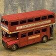 【VINTAGECAR LondonBus】レトロ調 ヴィンテージカー ビンテージカー ロンドンバス 新品未使用品 t-003△△