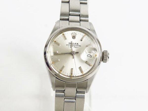 40%OFFROLEXロレックス腕時計レディース6516オイスターパーペチュアルデイト旧23mm手首周り14.5cm28番 中古