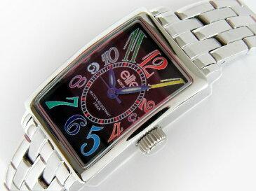 【送料無料】ベルト調整器付【elite】エリート レディース腕時計トノー ELA-0024■送料無料※北海道・九州・沖縄・離島は別途送料(1080円〜2160円)誕生日プレゼント サプライズ かわいい デザイナーズ