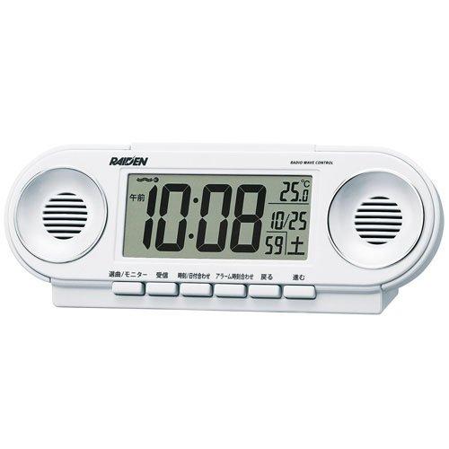 置き時計・掛け時計, 置き時計 SEIKO CLOCK () PYXIS () RAIDEN () NR531W 10802160