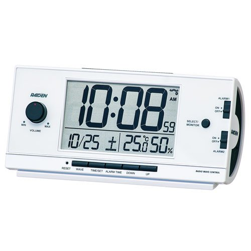 置き時計・掛け時計, 置き時計 SEIKO CLOCK () PYXIS () RAIDEN () NR534W 10802160