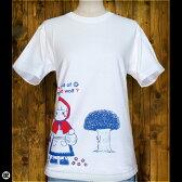 Tシャツ/メンズ/レディース/6.2oz半袖Tee : Akazukin : ホワイト