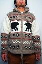 EARTH RAGZ(アースラグズ)Wool / Cotton Zipup HoodieCOLOR : BEAR (NATURAL/BEIGE)【05P03Sep16】【RCP】