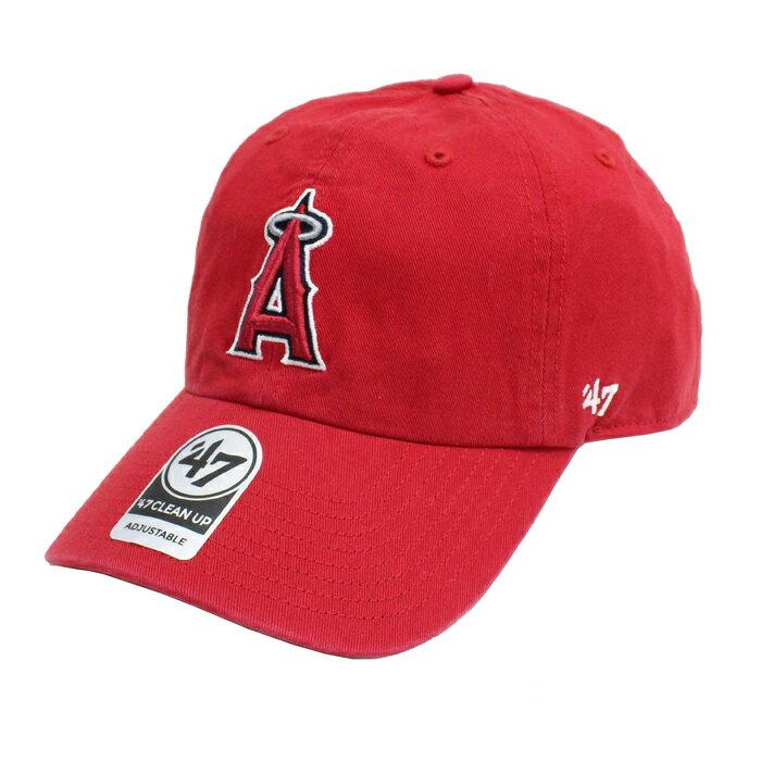 【ネコポス便対応】 47Brand MLB00912 Angels Home '47 CLEAN UP エンゼルス '47クリーンナップ MENS メンズ LADIES レディース オールシーズン対応 帽子 RED レッド