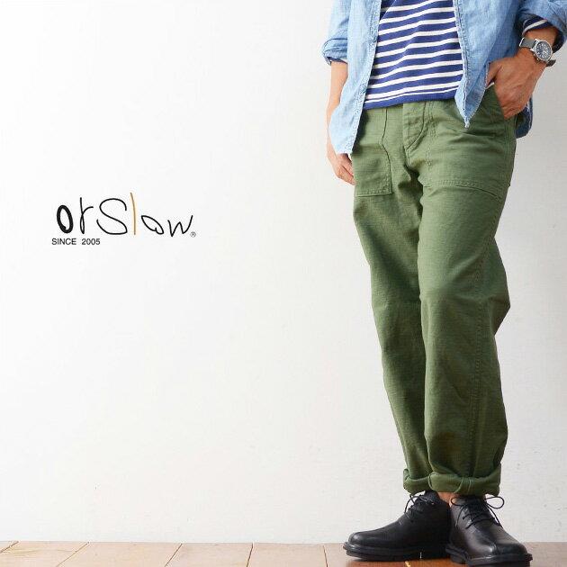 メンズファッション, ズボン・パンツ orslow US ARMY FATIGUE GREEN 01-5002-16 MENS