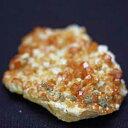 一点物 ガーネット・水晶共生クラスター41g 希少石