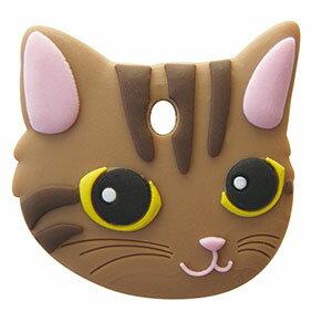ペットキーカバー 猫 キジトラ 【メール便可】