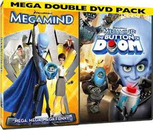 SALE OFF!新品北米版DVD!【メガマインド】Megamind Double Pack