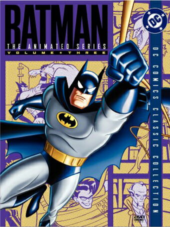 SALE OFF!新品北米版DVD!【バットマン】 Batman: The Animated Series, Volume Three (DC Comics Classic Collection)!