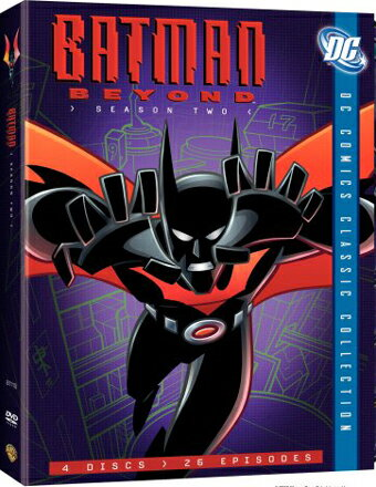 SALE OFF!新品北米版DVD!【バットマン・ザ・フューチャー:シーズン2】 Batman Beyond: Season Two (DC Comics Classic Collection)!