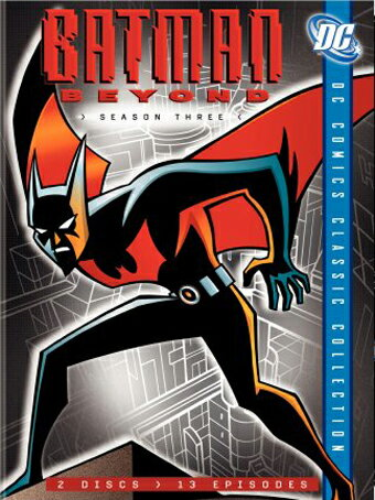 SALE OFF!新品北米版DVD!【バットマン・ザ・フューチャー:シーズン3】 Batman Beyond: Season Three (DC Comics Classic Collection)!