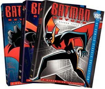 SALE OFF!新品北米版DVD!【バットマン・ザ・フューチャー:シーズン1〜3】 Batman Beyond: Season 1〜3 (DC Comics Classic Collection)!
