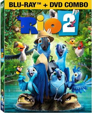 SALE OFF!新品北米版Blu-ray!Rio 2 [Blu-ray/DVD]!<『ブルー 初めての空へ』の続編>