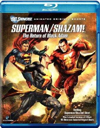 SALE OFF!新品北米版Blu-ray!【スーパーマン/シャザム】 Superman/Shazam!: The Return of Black Adam [Blu-ray]!