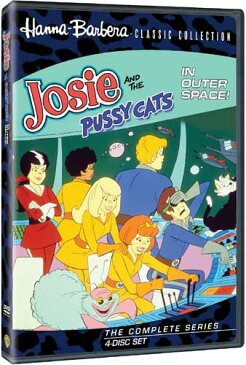 SALE OFF!新品北米版DVD!【ピッピーの宇宙大冒険】 Josie And The Pussycats In Outer Space (4 Disc)!<『ドラドラ子猫とチャカチャカ娘』の続編>