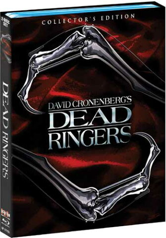 新品北米版Blu-ray!【戦慄の絆】 Dead Ringers [Collector's Edition] [Blu-ray]!<デイヴィッド・クローネンバーグ監督作品>