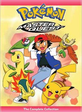 SALE OFF!新品北米版DVD!【ポケットモンスター 金銀編:コンプリート・コレクション】 Pokemon: Master Quest - The Complete Collection!<英語音声>