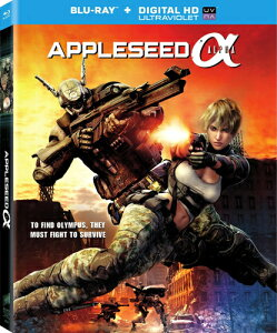 SALE OFF!新品北米版Blu-ray!【アップルシード アルファ】 Appleseed: Alpha [Blu-ray]!