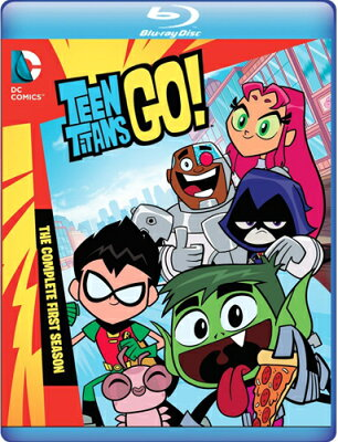 SALE OFF!新品北米版Blu-ray!【ティーン・タイタンズGO! 1stシーズン】 Teen Titans Go! The Complete First Season [Blu-ray]!
