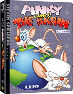 SALE OFF!新品北米版DVD!【ピンキー&ブレイン Vol.3】 Steven Spielberg Presents Pinky and the Brain: Volume 3!スティーブン・スピルバーグ