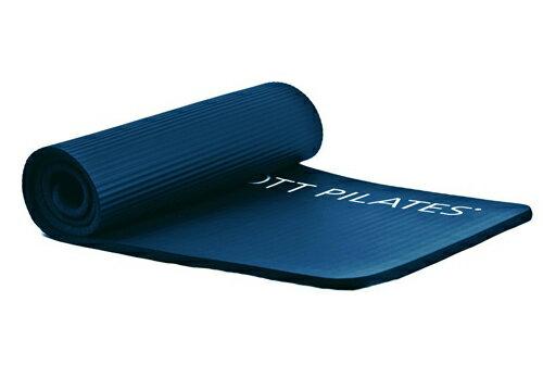 STOTT PILATES(ストットピラティス)デラックスピラティスマット<ミッドナイトブルー(ブルー)>(15mm)