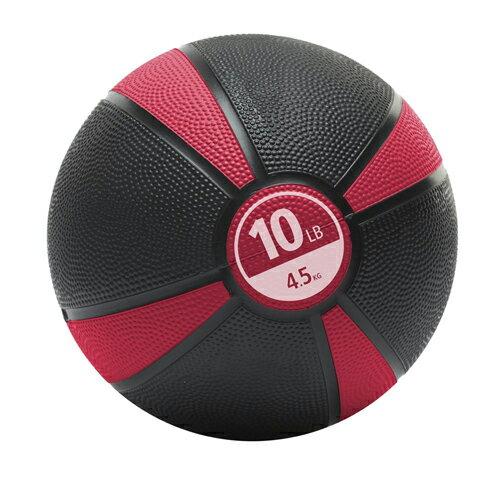MERRITHEW(メリシュー)Medicine Ball - 10LB (Red) <メディシンボール> 4.5kg