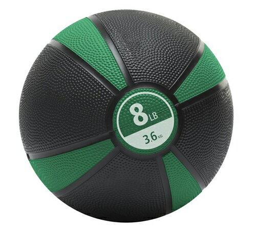 MERRITHEW(メリシュー)Medicine Ball - 8LB (Green) <メディシンボール> 3.6kg