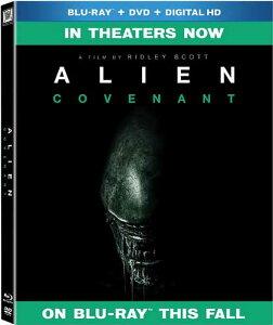 新品北米版Blu-ray!【エイリアン:コヴェナント】 Alien Covenant [Blu-ray/DVD]!