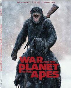 新品北米版Blu-ray!【猿の惑星:聖戦記(グレート・ウォー)】 War For The Planet Of The Apes [Blu-ray/DVD]!