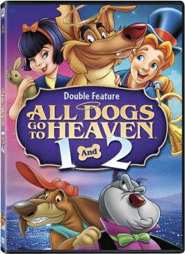 SALE OFF!新品北米版DVD!『天国から来たわんちゃん チャーリーのお話(1989)』『天使のわんちゃん/チャーリーとイッチー(1996)』 All Dogs Go to Heaven 1 & 2!