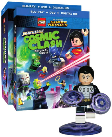 SALE OFF!新品北米版Blu-ray!【LEGO(R)スーパー・ヒーローズ:Justice League: Cosmic Clash】 LEGO DC Comics Super Heroes: Justice League: Cosmic Clash [Blu-ray/DVD]!<フィギュア付き>