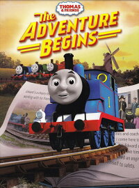 ■予約■SALEOFF!新品北米版DVD!ThomasAndFriends:TheAdventureBegins!<きかんしゃトーマス>