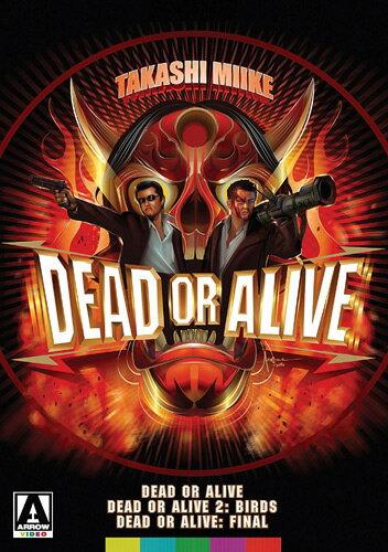 新品北米版DVD!<『DEAD OR ALIVE 犯罪者』『DEAD OR ALIVE2 逃亡者』『DEAD OR ALIVE FINAL』> (三池崇史/哀川翔.竹内力)