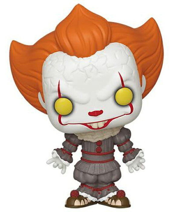 """[FUNKO(ファンコ)] FUNKO POP! MOVIES: It: Chapter 2 - Pennywise w/ Open Arms <IT イット THE END """"それ""""が見えたら、終わり。>"""