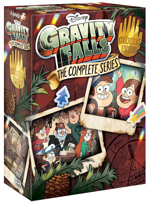 SALE OFF!新品北米版DVD!【怪奇ゾーン グラビティフォールズ 全40話】 Gravity Falls: The Complete Series Collector's Edition [DVD]!