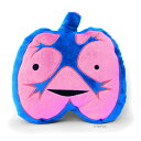 [I Heart Guts] Loud Lungs Plush: I Lung Rock 'N Roll <臓器のぬいぐるみ>