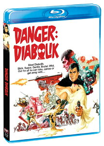 ■予約■新品北米版Blu-ray!【黄金の眼】Danger: Diabolik [Blu-ray]!<マリオ・バーヴァ監督作品>