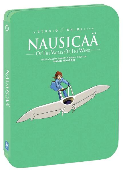 新品北米版Blu-ray  風の谷のナウシカ(スチールブック仕様) <宮崎駿監督/スタジオジブリ>
