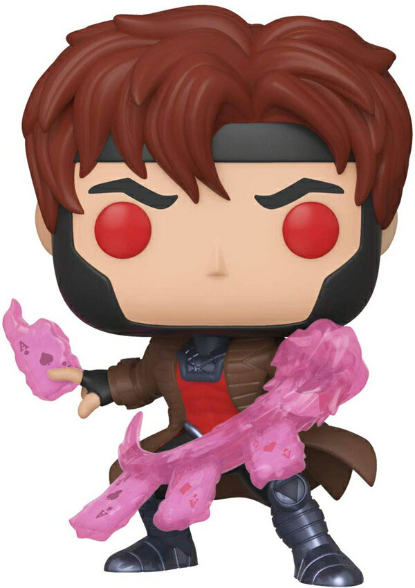 [FUNKO(ファンコ)] FUNKO POP! MARVEL: X-Men Classic - Gambit w/ Cards <ガンビット/X-メン>画像