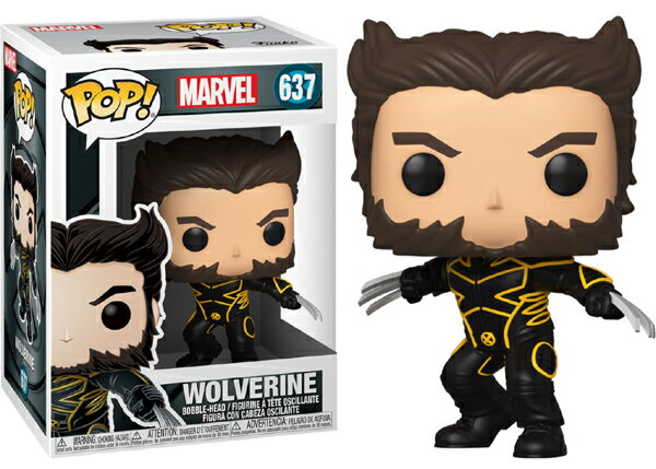 ■予約■[FUNKO(ファンコ)] FUNKO POP! MARVEL: X-Men 20th-Wolverine In Jacket <エックスメン20周年記念>画像