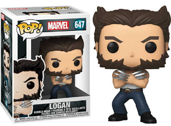 ■予約■[FUNKO(ファンコ)] FUNKO POP! MARVEL: X-Men 20th-Wolverine In Tanktop <エックスメン20周年記念>画像