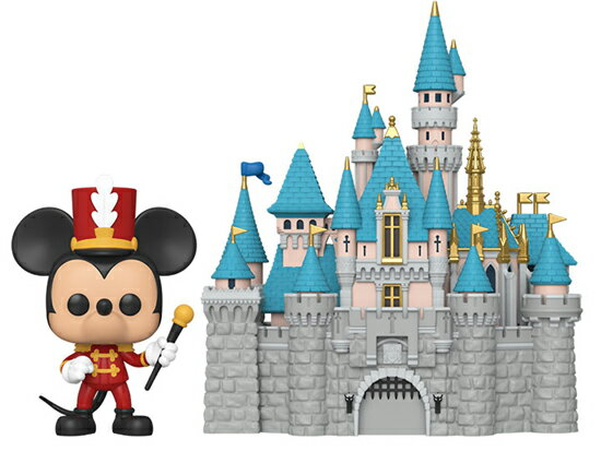 コレクション, フィギュア FUNKO FUNKO POP! TOWN: Disney 65th - Castle w Mickey 65