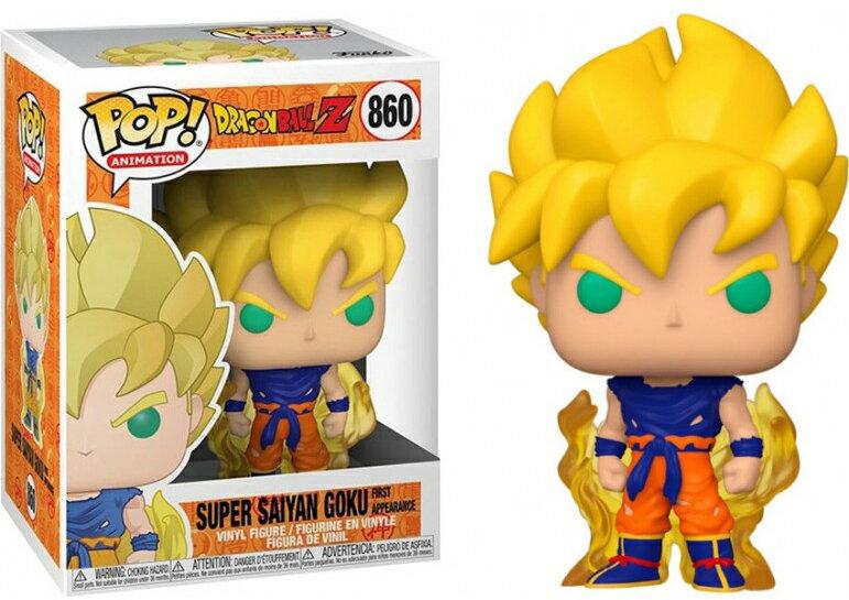コレクション, フィギュア FUNKO FUNKO POP! ANIMATION: Dragon Ball Z- SS Goku (First Appearance) Z