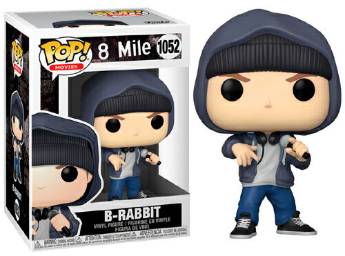 コレクション, フィギュア FUNKO FUNKO POP! MOVIES: 8 Mile- Rabbit