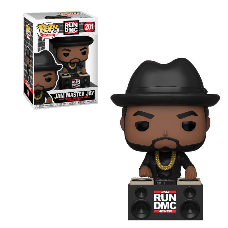 コレクション, フィギュア FUNKO FUNKO POP! ROCKS: Run-DMC- Jam Master Jay DMC