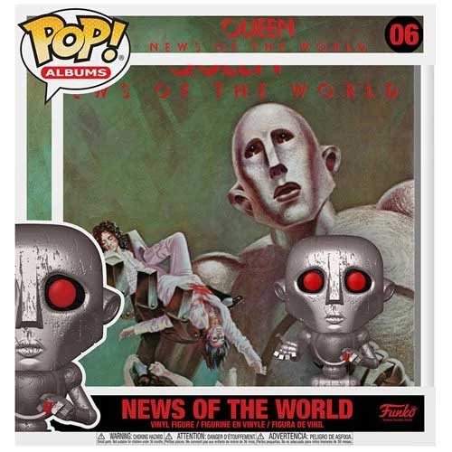コレクション, フィギュア FUNKO FUNKO POP! ALBUMS: Queen - News of the World