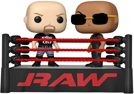 コレクション, フィギュア FUNKO FUNKO POP! MOMENT: WWE- The Rock vs Stone Cold in Wrestling Ring vs