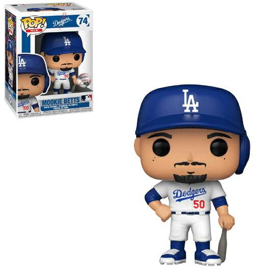 コレクション, フィギュア FUNKO FUNKO POP! MLB: Dodgers- Mookie Betts (Home Uniform)